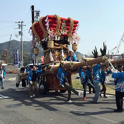福良の春祭り